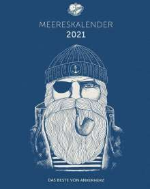 Ankerherz Wandkalender 2021, Kalender