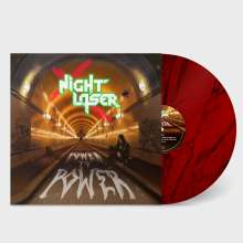 Night Laser: Power To Power (Ltd.Red Marble LP+MP3), LP