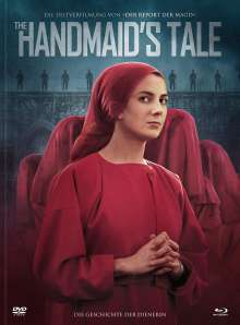 The Handmaid's Tale (1990) (Blu-ray & DVD im Mediabook), 1 Blu-ray Disc und 1 DVD