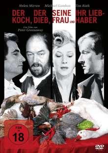 Der Koch, der Dieb, seine Frau und ihr Liebhaber, DVD