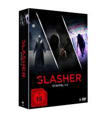 Slasher Staffel 1-3, 9 DVDs