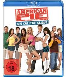 American Pie präsentiert: Die College-Clique (Blu-ray), Blu-ray Disc