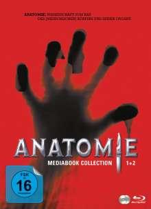 Anatomie 1&2 (Double Feature) (Blu-ray im Mediabook), 2 Blu-ray Discs