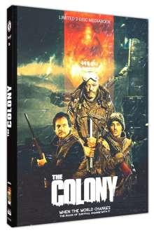 The Colony (Blu-ray & DVD im Mediabook), 1 Blu-ray Disc und 1 DVD
