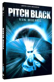 Pitch Black - Planet der Finsternis (Blu-ray & DVD im Mediabook), 1 Blu-ray Disc und 1 DVD