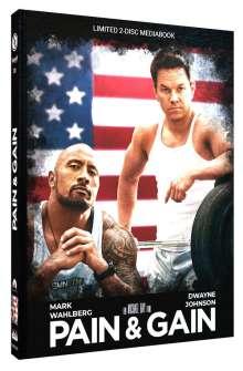 Pain & Gain (Blu-ray & DVD im Mediabook), 1 Blu-ray Disc und 1 DVD