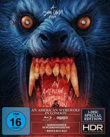An American Werewolf in London (Special Edition) (Ultra HD Blu-ray & Blu-ray), 1 Ultra HD Blu-ray und 2 Blu-ray Discs