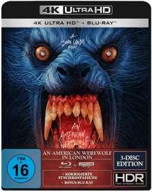 An American Werewolf in London (Ultra HD Blu-ray & Blu-ray), 1 Ultra HD Blu-ray und 2 Blu-ray Discs