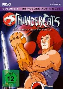 ThunderCats Vol. 1, 4 DVDs