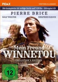 Mein Freund Winnetou (Komplette Serie) (Collector's Edition), 3 DVDs und 1 CD