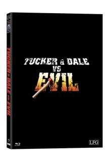 Tucker & Dale vs. Evil (Blu-ray & DVD im Mediabook), 1 Blu-ray Disc und 1 DVD