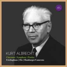 Kurt Albrecht (1895-1971): Symphonie für Streichorchester & Pauken, CD