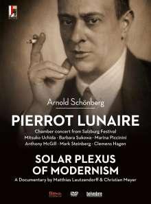Arnold Schönberg (1874-1951): Pierrot Lunaire op.21, DVD