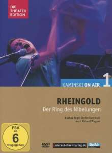 Richard Wagner (1813-1883): Kaminski on Air 1 - Das Rheingold (Hörspiel-Theater), DVD