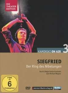 Richard Wagner (1813-1883): Kaminski on Air 3 - Siegfried (Hörspiel-Theater), DVD