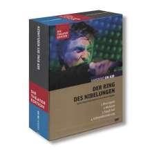 Richard Wagner (1813-1883): Kaminski on Air - Der Ring des Nibelungen (Hörspiel-Theater), 4 DVDs