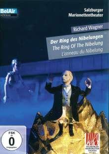 Richard Wagner (1813-1883): Der Ring des Nibelungen (als Marionettentheater), DVD