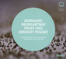 Bernhard Paumgartner probt und dirigiert Mozart, CD