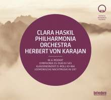 Wolfgang Amadeus Mozart (1756-1791): Symphonie Nr.39, 2 CDs