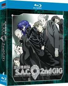 Ghost in the Shell SAC 2 (Blu-ray), 4 Blu-ray Discs