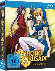 Chrono Crusade (Komplette Serie) (Blu-ray), 4 Blu-ray Discs