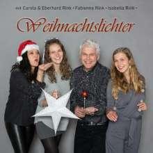 Fabienne & Isabella Rink Carola & Eberhard Rink: Weihnachtslichter, CD