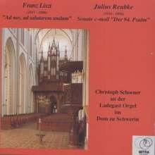 Christoph Schoener an der Ladegast Orgel im Dom Schwerin, CD