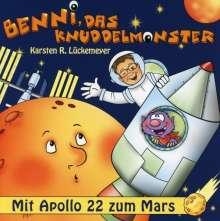 Karsten R. Lückemeyer: Benni,Das Knuddelmonster-Mit Apollo 22 Zum Mars, CD