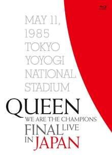 Queen: We Are The Champions Final: Live In Japan (+Booklet u. a.), Blu-ray Disc