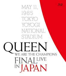 Queen: We Are The Champions Final: Live In Japan (Reissue) (Regular), Blu-ray Disc