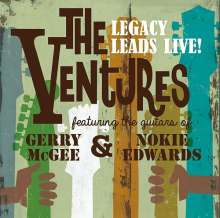The Ventures: The Ventures Legacy Leads Live! Featuring The Guitars Of Gerry McGee And Nokie Edwards, 2 CDs