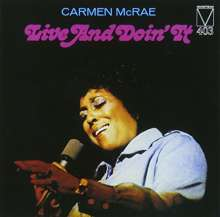 Carmen McRae (1920-1994): Live And Doin' It, CD