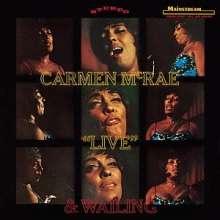 Carmen McRae (1920-1994): Live And Wailing, CD