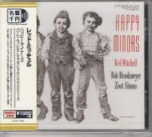 Red Mitchell, Bob Brookmeyer & Zoot Sims: Happy Minors, CD
