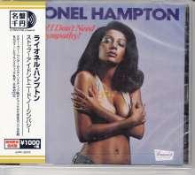 Lionel Hampton (1908-2002): Stop! I Don't Need No Sympathy!, CD