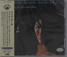 Alice Darr: I Only Know How To Cry: Music For Lovers And Losers, CD