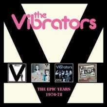 The Vibrators: The Epic Years 1976 - 1978, 4 CDs