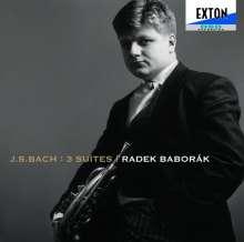 Johann Sebastian Bach (1685-1750): Cellosuiten BWV 1007-1009 arr.f.Horn, CD