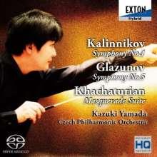 Wassilij Kalinnikoff (1866-1901): Symphonie Nr.1, 2 Super Audio CDs