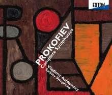 Serge Prokofieff (1891-1953): Symphonien Nr.1-7, 3 CDs