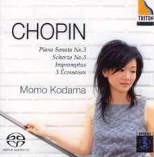 Frederic Chopin (1810-1849): Klaviersonate Nr.3 op.58, Super Audio CD