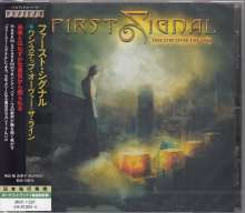 First Signal: One Step Over The Line, CD