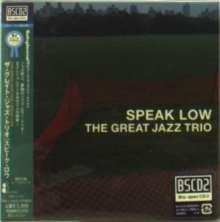 The Great Jazz Trio: Speak Low (Digisleeve) (Blu-Spec CD2), CD