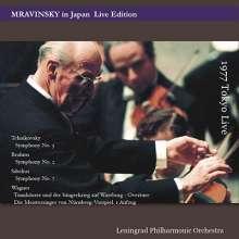 Mravinsky in Japan (180g), 3 LPs