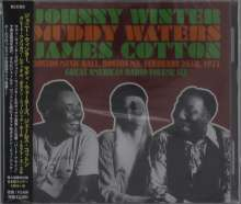 Muddy Waters, Johnny Winter & James Cotton: Great American Radio Vol. 6: Boston Music Hall. 1977/02/26, 2 CDs