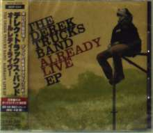Derek Trucks: Already Live Ep +1 (Ltd.Edition), CD