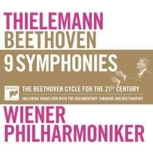 Ludwig van Beethoven (1770-1827): Symphonien Nr.1-9, 6 CDs und 1 DVD