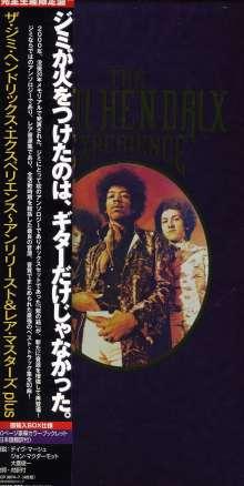 Jimi Hendrix: The Jimi Hendrix Experience (Unreleased & Rare Masters Plus), 4 CDs