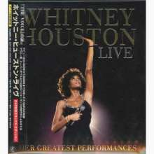 Whitney Houston: Live: Her Greatest Performances (Deluxe-Edition), 1 CD und 1 DVD
