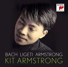 Kit Armstrong - Bach/Ligeti/Armstrong (Blu-spec-CD), CD